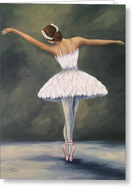The Ballerina V Greeting Card