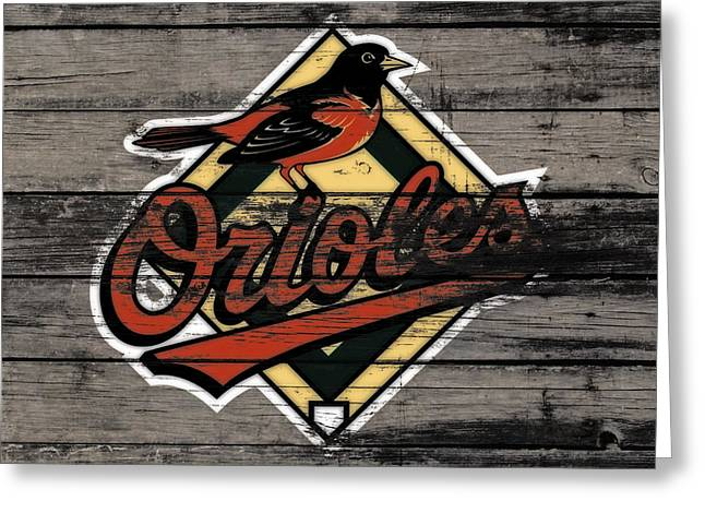 The Baltimore Orioles W3                          Greeting Card