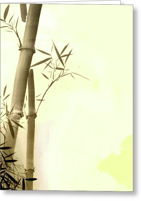 The Bamboo Branch Greeting Card