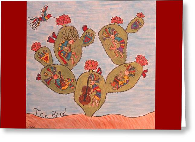 The Band Greeting Card by Susie WEBER