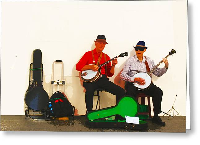 The Banjo Dudes Greeting Card