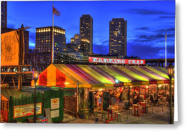 The Barking Crab - Boston Nightlife Greeting Card