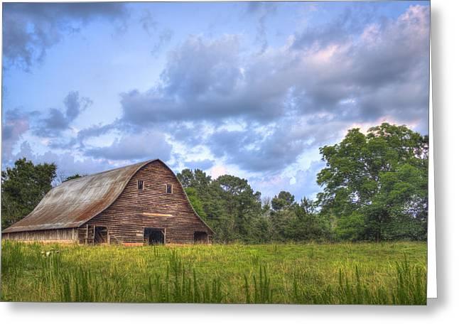 The Barn At Philomath 2 Greeting Card by Reid Callaway