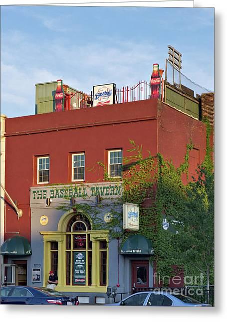 The Baseball Tavern Boston Massachusetts  -30948 Greeting Card
