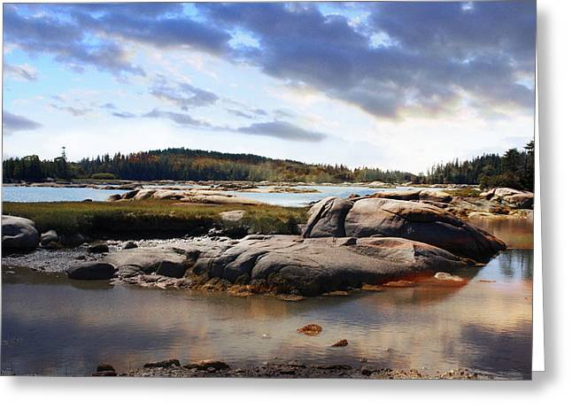 The Basin, Vinalhaven, Maine Greeting Card