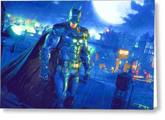 The Batman Joker Greeting Card