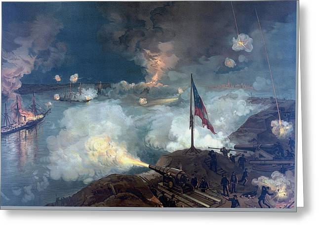 The Battle Of Port Hudson - Civil War Greeting Card by War Is Hell Store