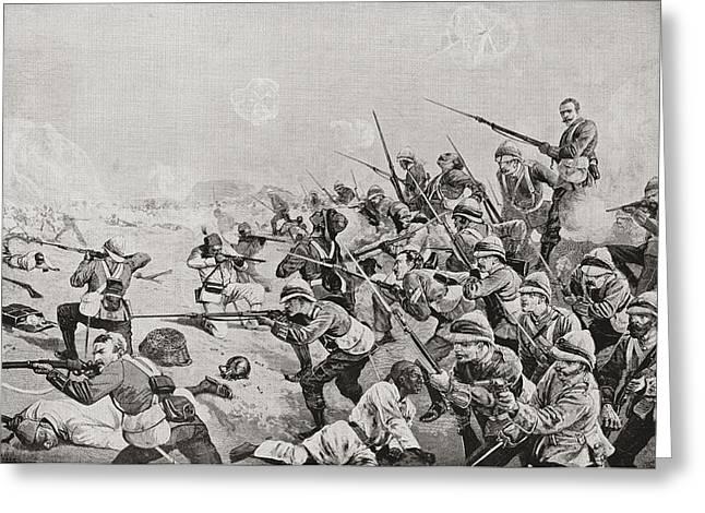 The Battle Of Tel El-kebir Or El-tal Greeting Card