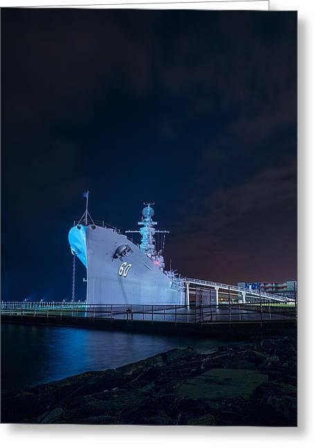 The Battleship 2 Greeting Card