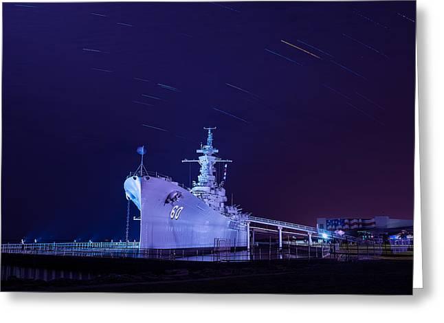 The Battleship Greeting Card