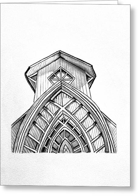 The Baughman Center Greeting Card by Kelly Bowers