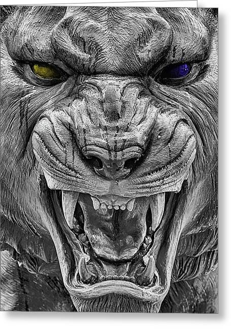 The Bayou Bengal Greeting Card by JC Findley