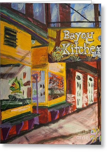 The Bayou Kitchen Greeting Card