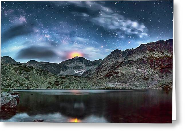 The Beacon Greeting Card by Evgeni Dinev
