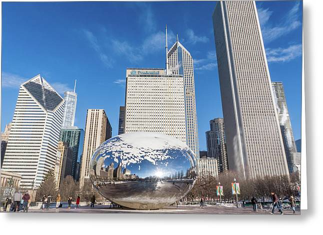 The Bean And The City Greeting Card