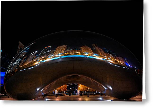 The Bean Greeting Card by Lone Dakota Photography