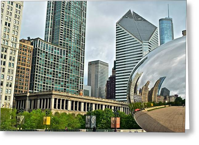 The Bean Reflects Greeting Card