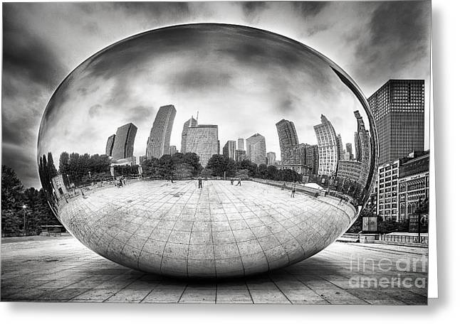 The Bean Greeting Card by Todd Bielby