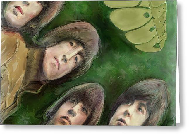 The Beatles, Rubber Soul Greeting Card