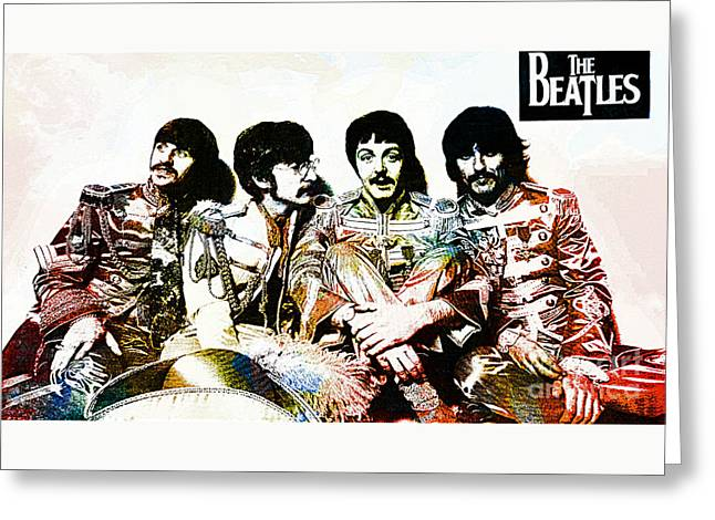 The Beatles--sargent Peppers Lonely Hearts Club Band Greeting Card