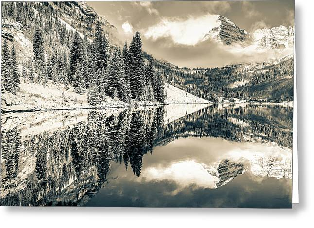 The Beautiful Bells - Aspen Greeting Card by Gregory Ballos