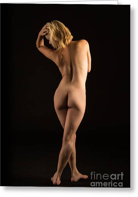 The Beautiful Female Nude Fine Art Prints Or Photographs  4257.0 Greeting Card
