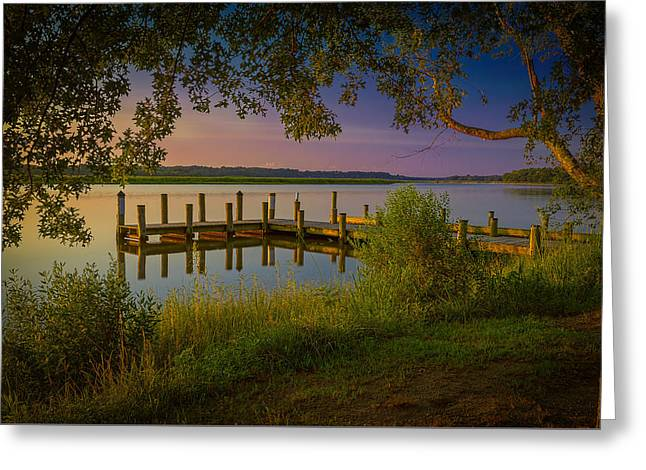 Greeting Card featuring the photograph The Beautiful Patuxent by Cindy Lark Hartman