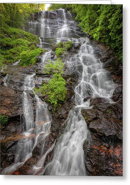 The Beauty Of Amicalola Falls Greeting Card