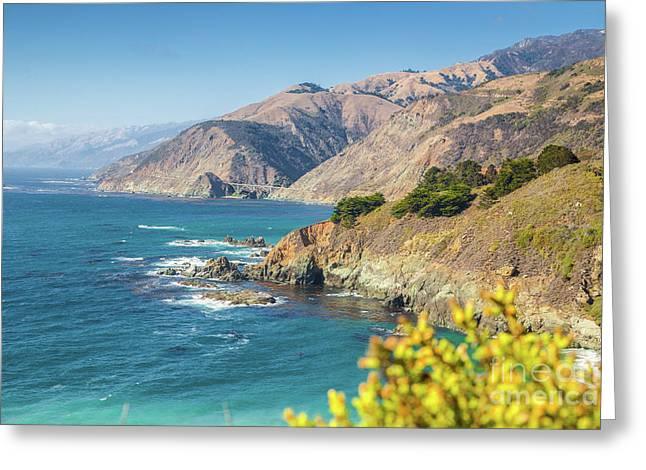 The Beauty Of Big Sur Greeting Card by JR Photography
