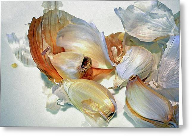 The Beauty Of Garlic Greeting Card