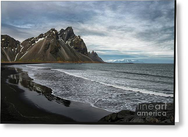 Greeting Card featuring the photograph The Beauty Of Iceland by Sandra Bronstein