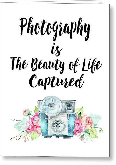 Greeting Card featuring the digital art The Beauty Of Life by Colleen Taylor