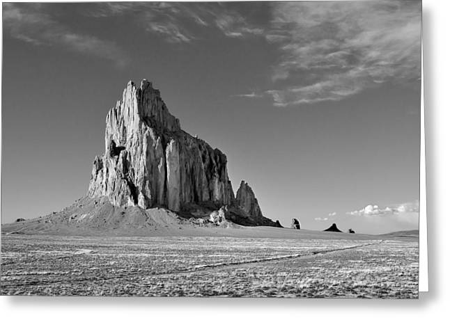 The Beauty Of Shiprock Greeting Card