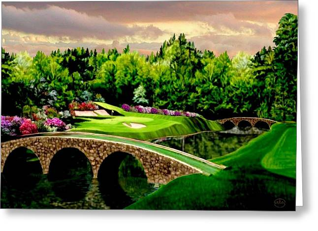 The Beauty Of The Masters 3 Greeting Card