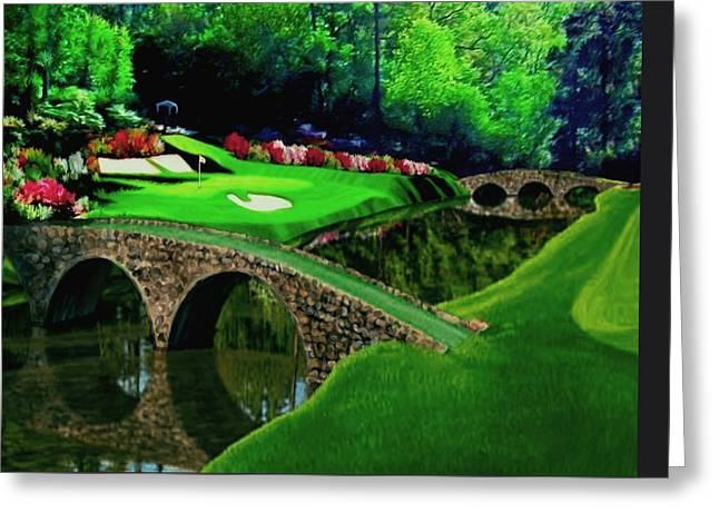 The Beauty Of The Masters Cropped Version Greeting Card