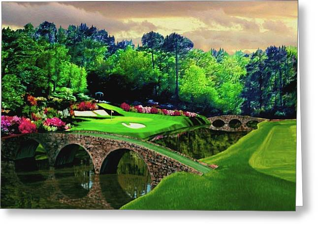The Beauty Of The Masters Greeting Card by Ron Chambers