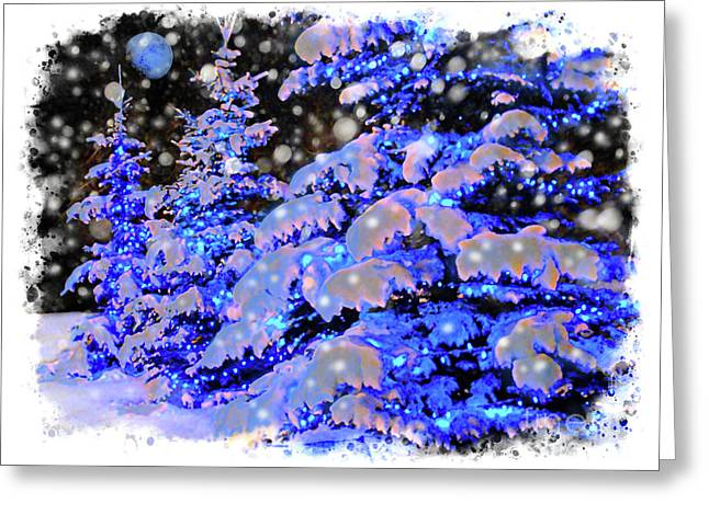 The Beauty Of Winter II - Christmas Card 2016 - 7 Greeting Card