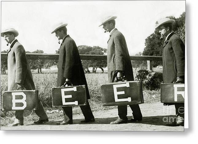 The Beer Boys Greeting Card