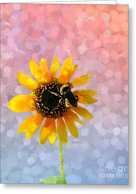 Greeting Card featuring the photograph The Bee's Knees by Betty LaRue
