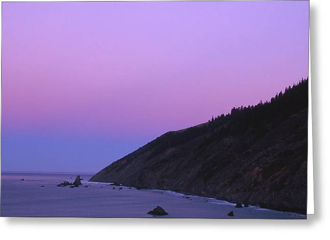 The Beginning Of The Lost Coast Greeting Card by Soli Deo Gloria Wilderness And Wildlife Photography