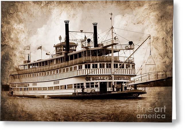 The Belle Of Louisville Kentucky Greeting Card