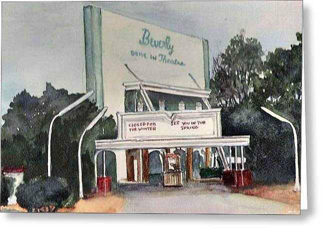 The Beverly Drive Inn Greeting Card