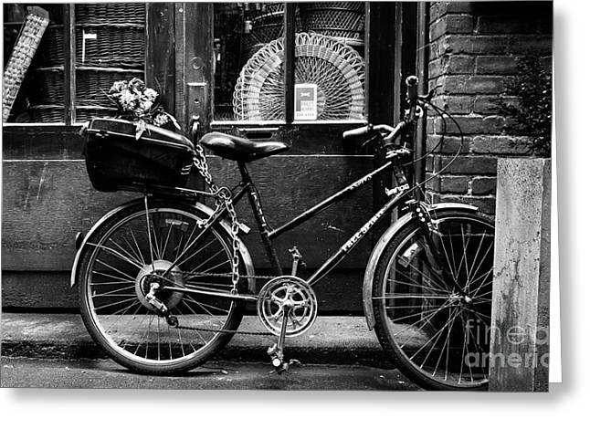 The Bicycle Greeting Card