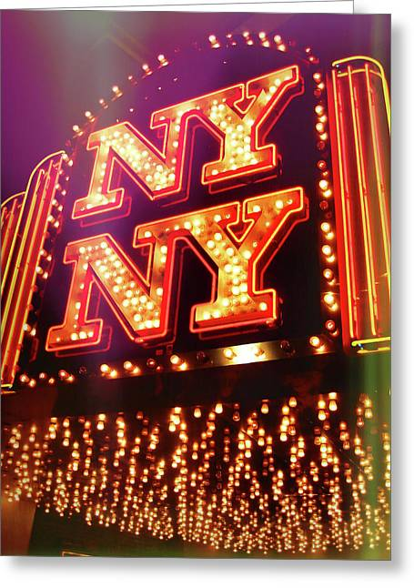 The Big Apple Greeting Card by JAMART Photography