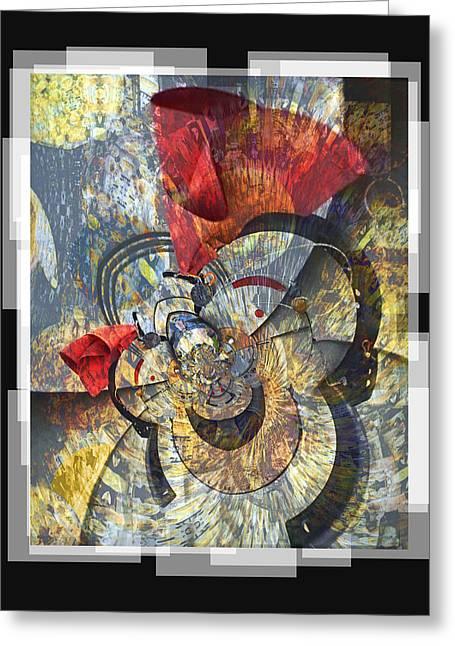 The Big Bang Greeting Card by Chuck Brittenham