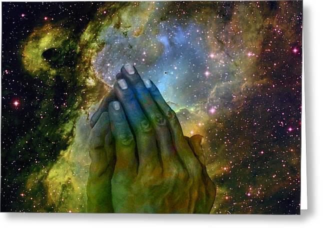 The Big Bang  Two Greeting Card