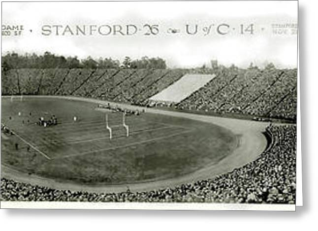 Stanford And U Of C 1925 Greeting Card