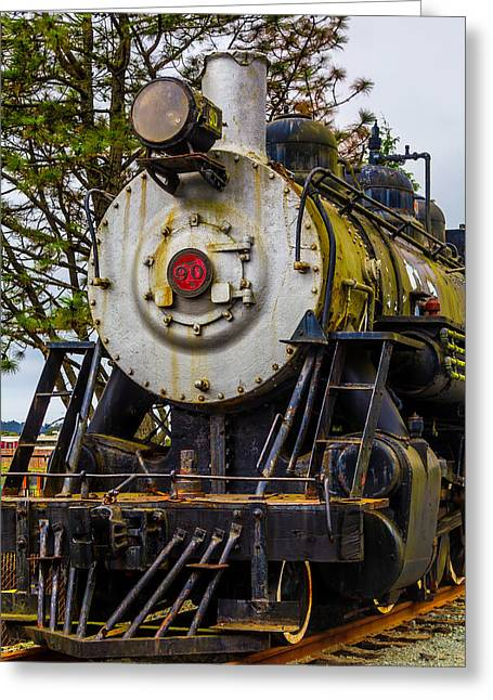 The Big Southern Pacific Lines Engine 90 Greeting Card by Garry Gay