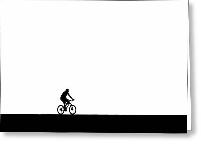 The Bike Ride  Greeting Card