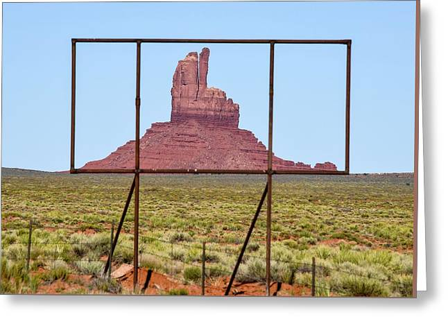 Utah Billboard Greeting Card